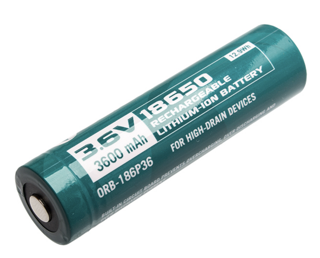 Olight 3600mah 18650 Rechargeable Battery Protected Elite Outdoor Gear