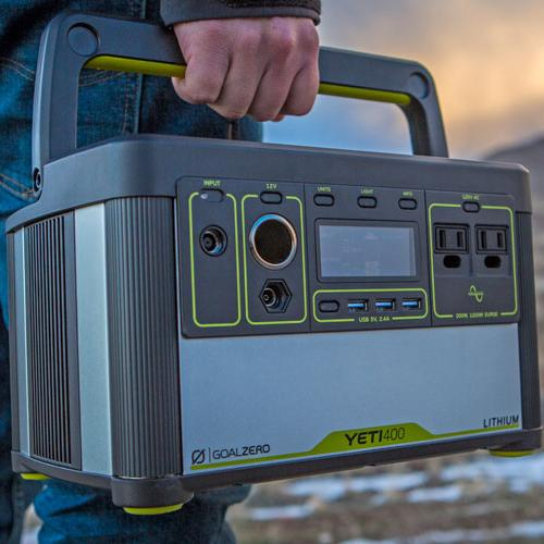 Goal Zero Lithium Yeti 400 Elite Outdoor Gear